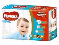 HUGGIES NAT.CARE NENE X56 GDE