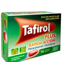 kit 3 Cajas Tafirol Plus Rapida Acción x16 comprimidos.