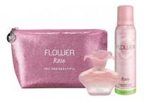 FLOWER ROSE NECESSAIRE + EDPX40 + DEO