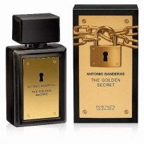 ANTONIO BANDERAS THE GOLDEN SECRET FOR MEN EDT X100