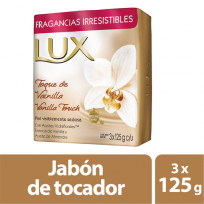 LUX JABON 3X125 FLOR VAINILLA
