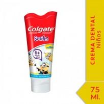 COLGATE SMILES MINIONS CR. X75 DE 2 A 5 AñOS