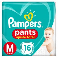 PAMPERS PANTS X16 M