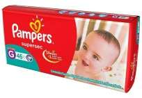 PAMPERS SUPERSEC X46 G