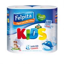 FELPITA PAP.HIG.X4 KIDS D.H30M