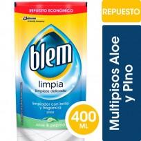 BLEM LIMPIADOR MULTIPISOS 3EN1 X400 ALOE