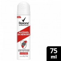 REXONA ALCOHOL AEROSOL ANTIBACTERIAL RIVER