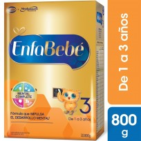 Enfabebe Premium 3 (1 A 3 Años) X800 Gramos 6 unidades