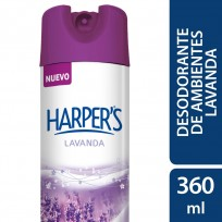 HARPERS DESODORANTE AMBIENTE X360 LAVANDA