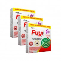FUYI ESPIRALES PACK X 3 CAJAS