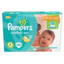 PAMPERS CONFORT SEC X 46 G