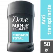 Dove Cuidado Total Antitranspirante En Barra Masculino