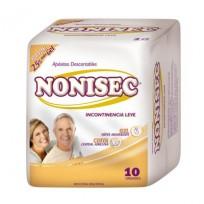 NONISEC APOSITO X10 INCONTINENCIA LEVE