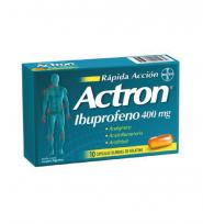 ACTRON RÁPIDA ACCIÓN 400 X10 CAPSULAS BLANDAS