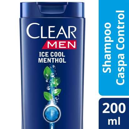 CLEAR SH MEN ICE COOL MENTHOL X200