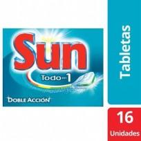 Sun Tabletas x16 3en1 Kit x 3 cajas. 48 Tabletas