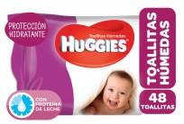 HUGGIES TOALLITAS HUMEDAS X48 PROTECCIÓN HIDRATANTE