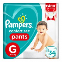 PAMPERS PANTS X34 G