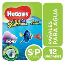 HUGGIES LITTLE SWIMMERS X12 P PAÑAL PARA AGUA