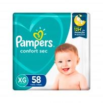 PAMPERS CONFORT SEC X58 XG