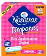 NOSOTRAS TAMPOLLA X10 SUPER
