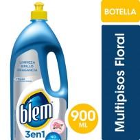 BLEM LIMPIADOR MULTIPISOS 3EN1 X900 FLORAL