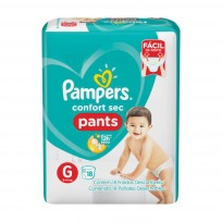 PAMPERS PANTS X18 G $M
