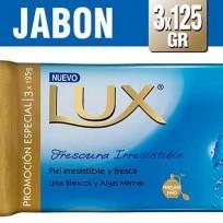 LUX JABON X125 LIRIO AZUL
