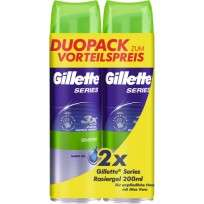 GILLETTE GEL AF.X200 SENS.X2