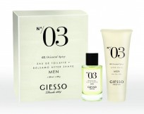 GIESSO COLLECTION 03 COFRE EDT X100 + AF. SHAVE