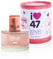 47 STREET EAU DE TOILETTE LOVE X60