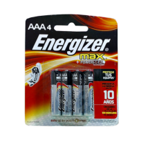ENERGIZER PILA AAA X4