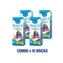 SANCOR BEBE 2. KIT 10 LECHES X200ML (6 A 12 M)