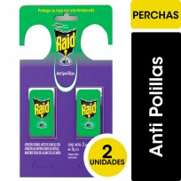 RAID PERCHITA ANTIPULGAS X2U.