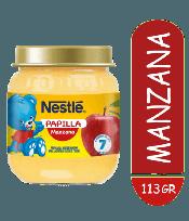 NESTLE PAPILLA 7M+ X113G. MANZANA