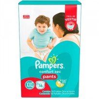PAMPERS PANTS X 16UNIDADES TAMAÑO XXG