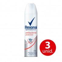 REXONA ANTI.X105 ANTIBACTERIAL DAMA $C COMBO X3 U