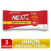 NEXT JABON ANTIBACTERIAL 3X90G.
