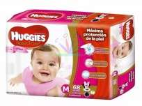 HUGGIES NAT.CARE NENA X68 M