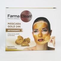 FARMA CLEAN MASCARA GOLD 24K