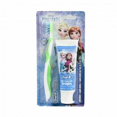 ORAL-B STAGES FROZEN Cepillo+PASTA . Tienda Online Anika Farmacia y  Perfumería c5267e2b3a7f