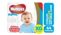HUGGIES NAT.CARE NENE X44 XG