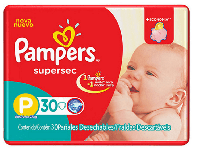 PAMPERS SUPERSEC X30 P
