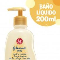 JOHNSON BAÑO LIQUIDO X200 RECIÉN NACIDO