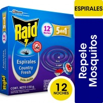 RAID ESPIRALES X12 COUNTRY FRESH