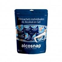ALCOSNAP ALCOHOL MONODOSIS X15