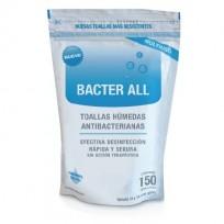 BACTER ALL TOALLITAS DESINFECTANTES X150