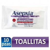 ASEPXIA TOALLITAS HUMEDAS X10