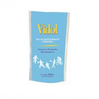VIDOL TALCO BOLSA X250GR DESOD