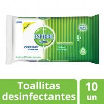 ESPADOL TOALLAS DESINFECTANTES X10